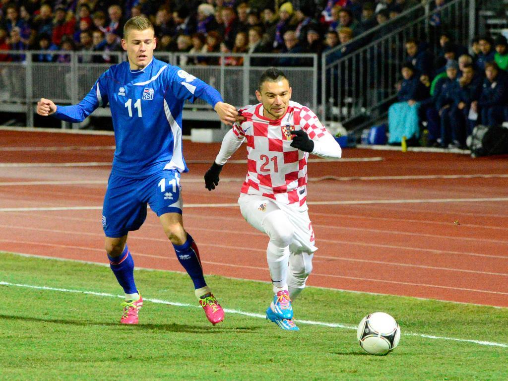 Islândia-Croácia [Reuters]