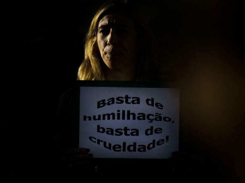 Manifestação de professores em Lisboa (Lusa)