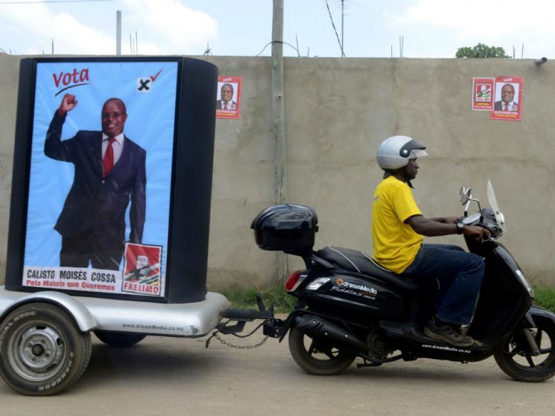 Campanha autárquica em Moçambique (Reuters)