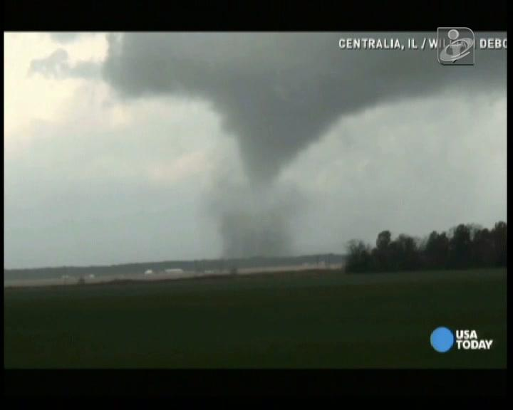 Tornado no Illinois, EUA