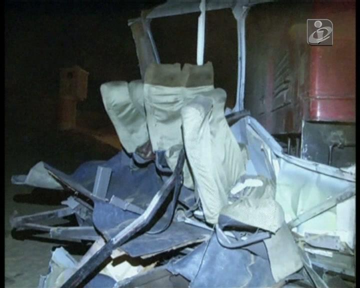 Egito: 24 mortos em colisão entre comboio e dois veículos