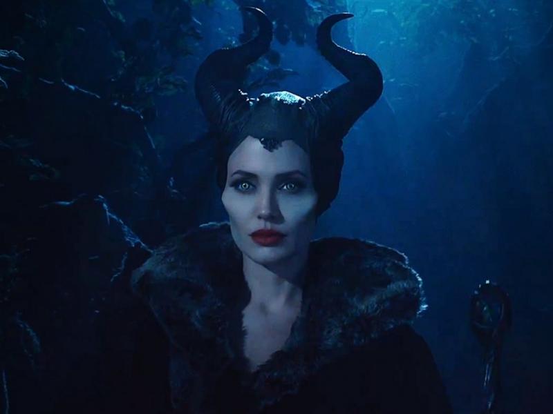 Angelina Jolie em «Maleficent»