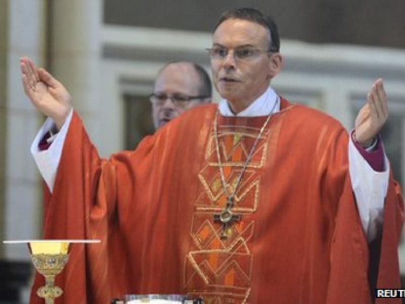Bispo alemão Franz-Peter Tebartz-van Elst (Reuters)