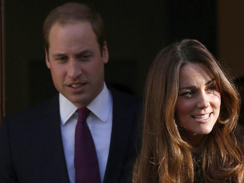 William e Kate Middleton (REUTERS)