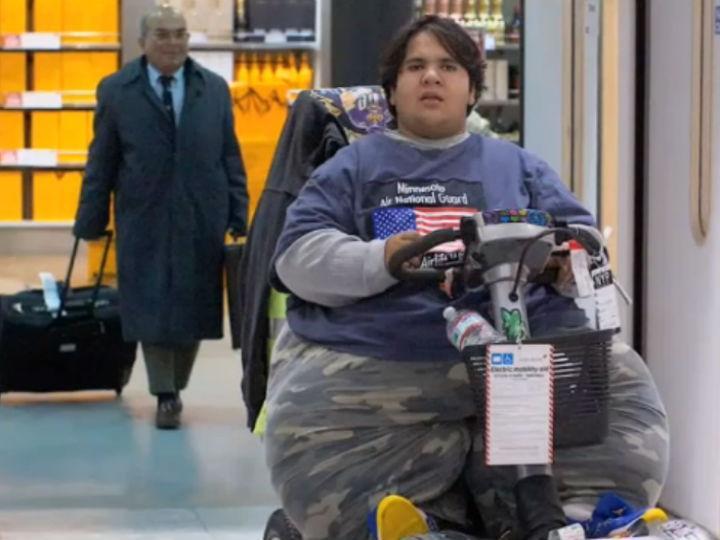 Kevin Chenais pesa 230 quilos