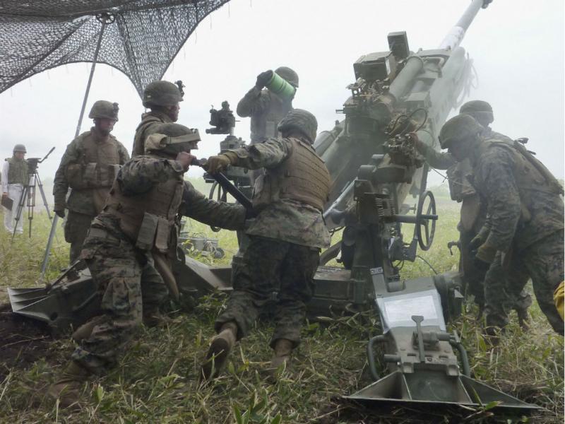 Exercício militar recorda II Guerra Mundial em Hokkaido (REUTERS/Kyodo)