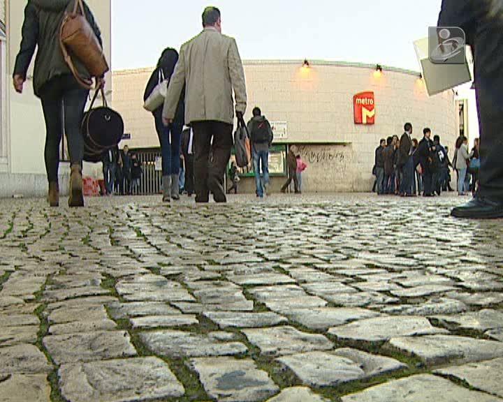 Greve no Metro de Lisboa