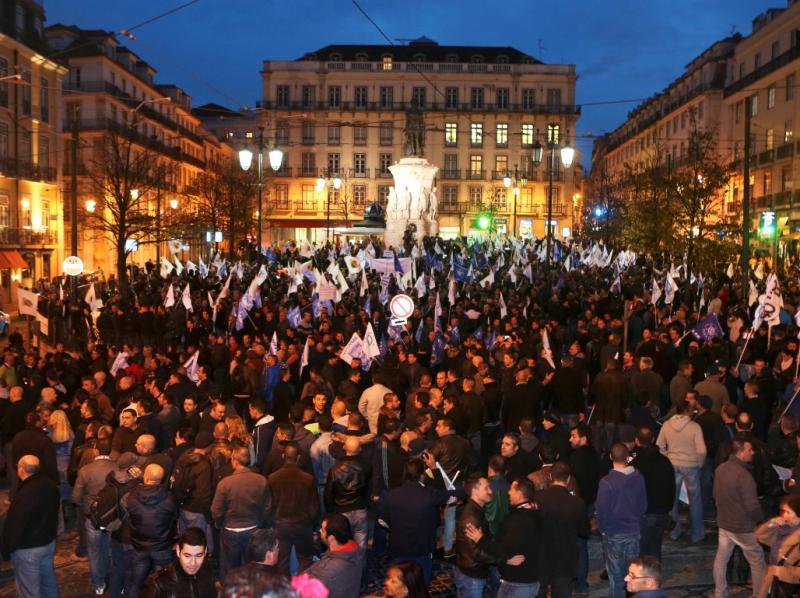 Manifestação das forças de segurança em Lisboa (Lusa)