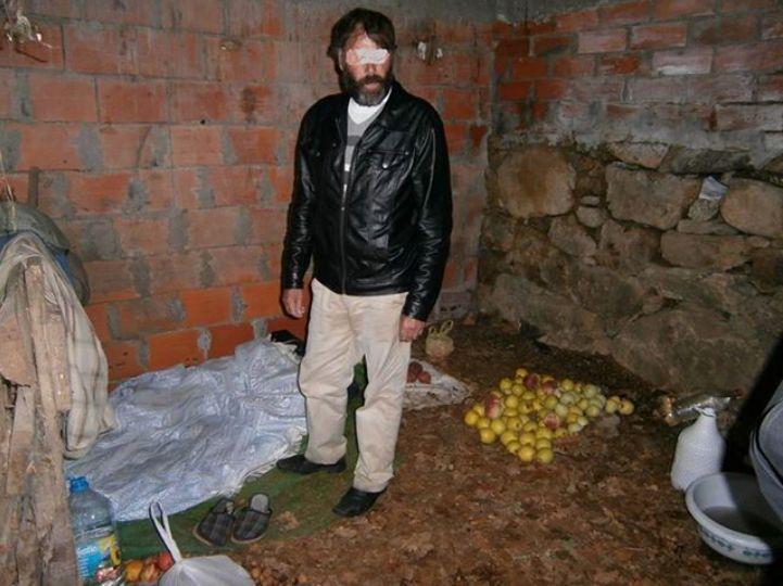 Homem só se alimentava de fruta (Foto: GNR de Lamego)
