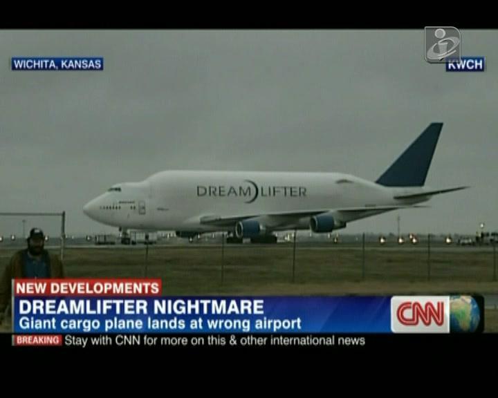 Avião aterrou no aeroporto errado