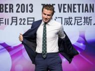 Beckham a fazer negócios em Macau (Reuters)