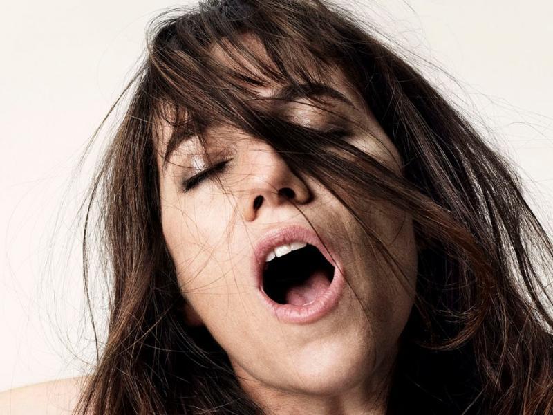 Charlotte Gainsbourg no cartaz promocional de «Nymphomaniac»