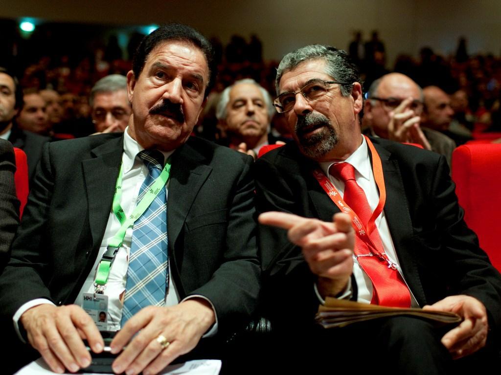 Fernando Ruas e Manuel Machado (Lusa)