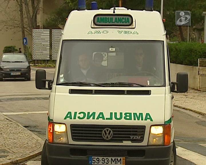 Ambulância par transporte de doentes