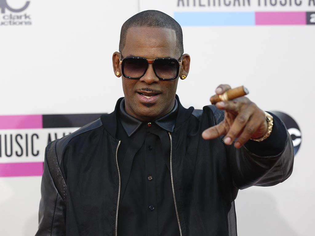 R. Kelly na gala dos American Music Awards 2013 (Reuters)