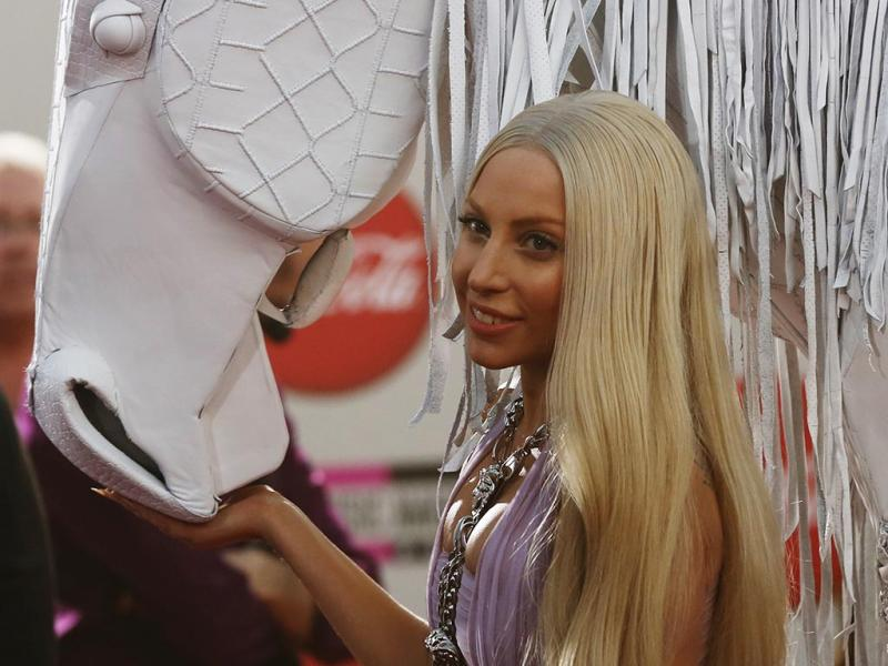 Lady Gaga na gala dos American Music Awards 2013 (Reuters)