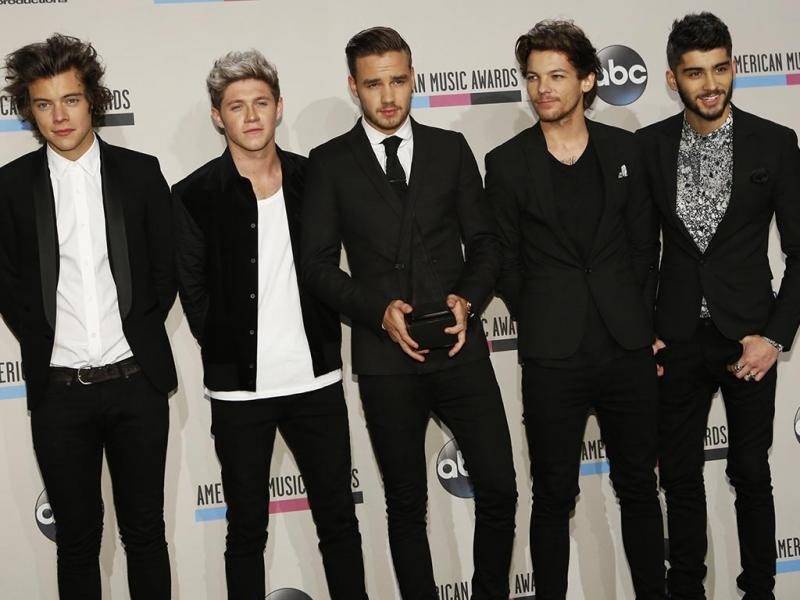 One Direction na gala dos American Music Awards 2013 (Reuters)