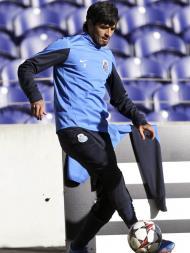 Treino do FC Porto de preparação para o Áustria de Viena (LUSA)