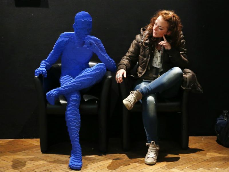 Exposição de Legos em Bruxelas (Reuters)