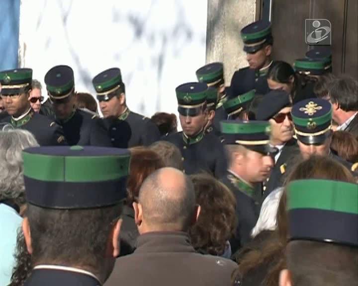 Ministro no funeral do militar da GNR que foi abatido