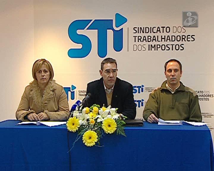 Trabalhadores dos impostos em greve durante três dias