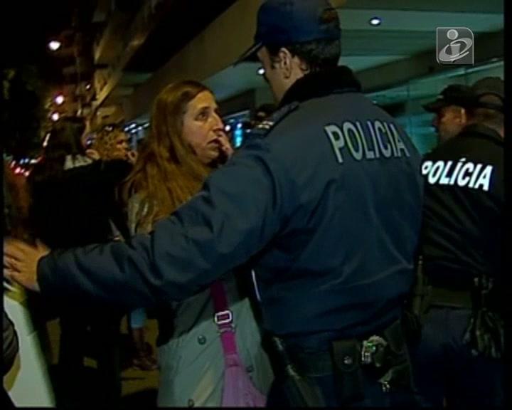 Polícias impedem invasão do ministério da Educação