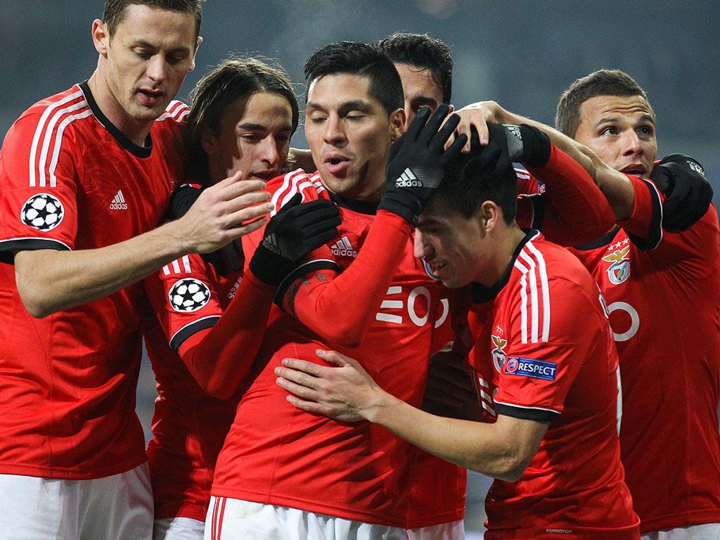 Anderlecht vs Benfica (EPA)