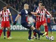 Paris Saint Germain vs Olympiacos (EPA)