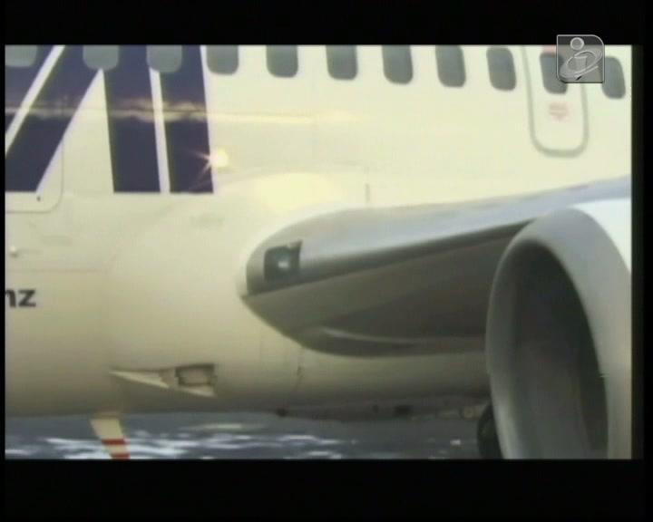 Seis portugueses a bordo de avião da LAM