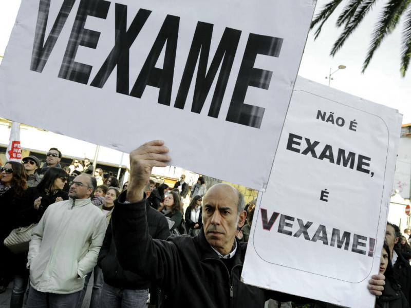 Manifestação dos professores [Lusa]