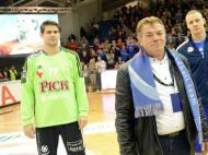 Pick Szeged-Benfica e a homenagem a Fehér