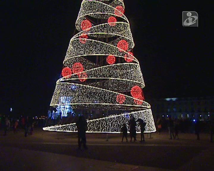 Já é Natal em Lisboa