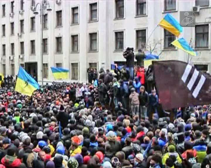 Milhares nas ruas de Kiev contra presidente Ianukovich