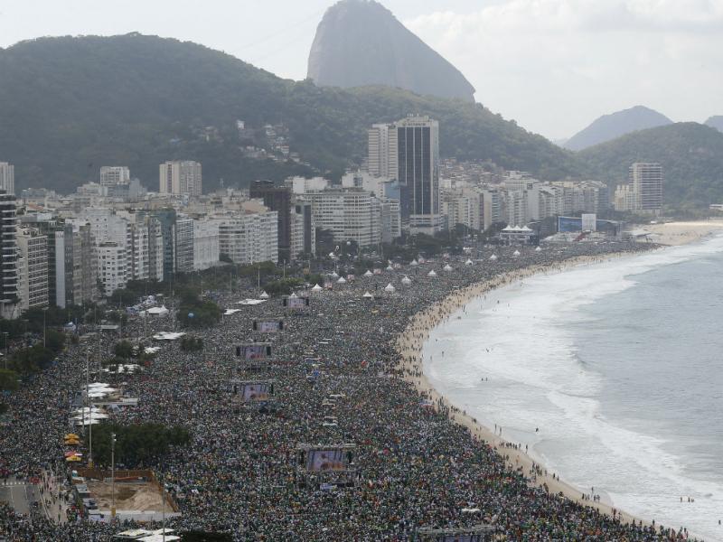 Praia de Copacabana, Brasil (Reuters)