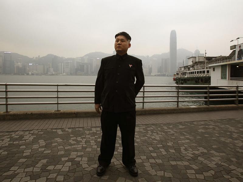 Kim Jong-un? Não, não é o líder da Coreia do Norte (Reuters)