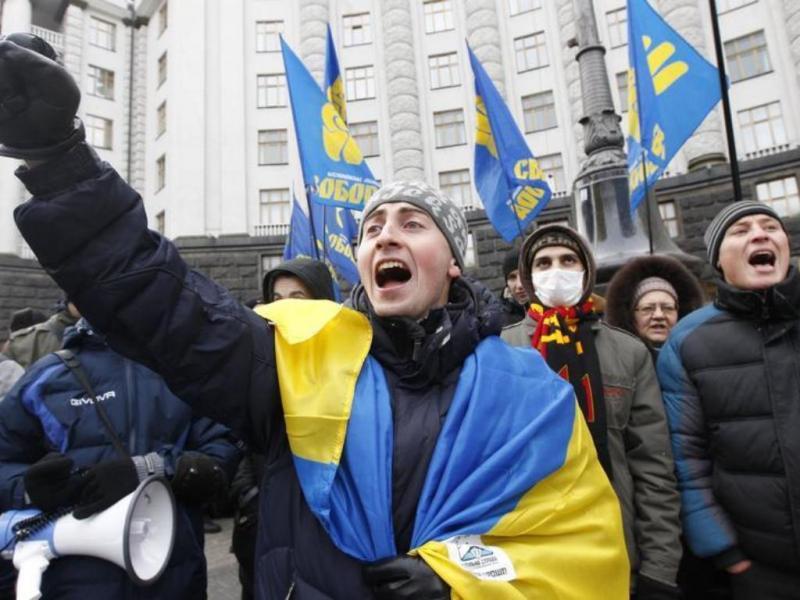 Protestos na Ucrânia [Reuters]