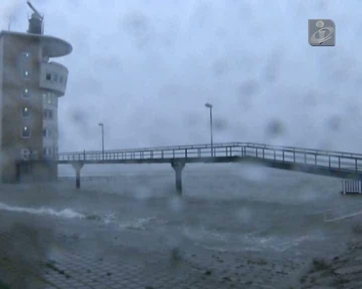 Tempestade no Reino Unido já fez um morto