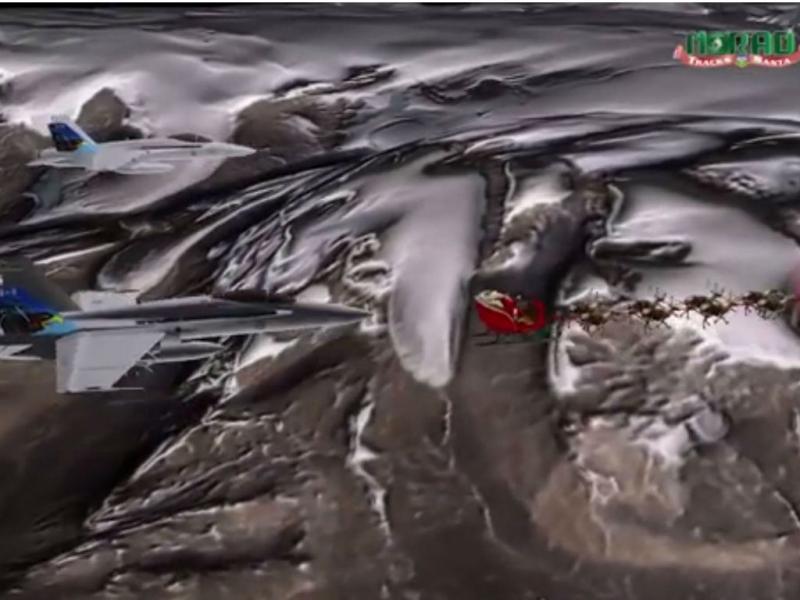 NORAD põe caças a vigiar o Pai Natal (Reuters)