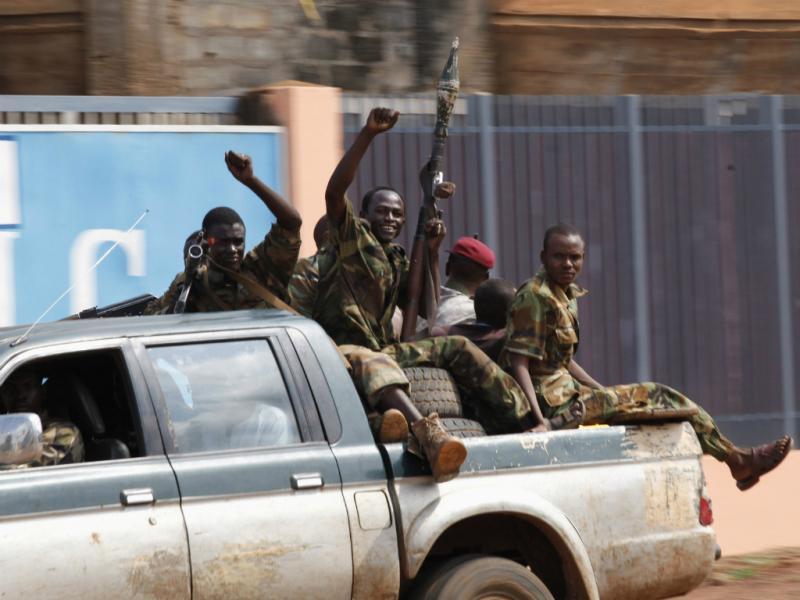 Confrontos na República Central-Africana (Reuters)