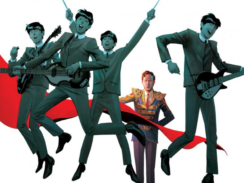 Banda desenhada «The Fifth Beatle»