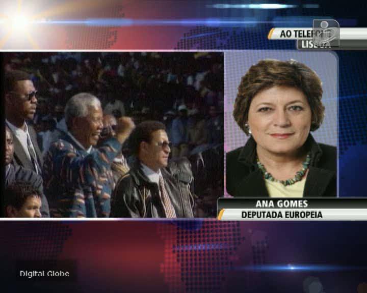 Mandela: Ana Gomes recorda que Portugal votou «vergonhosamente» do lado do apartheid