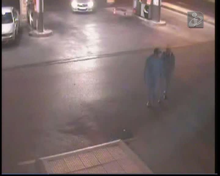 Sete homens detidos em flagrante a tentar roubar uma gasolineira
