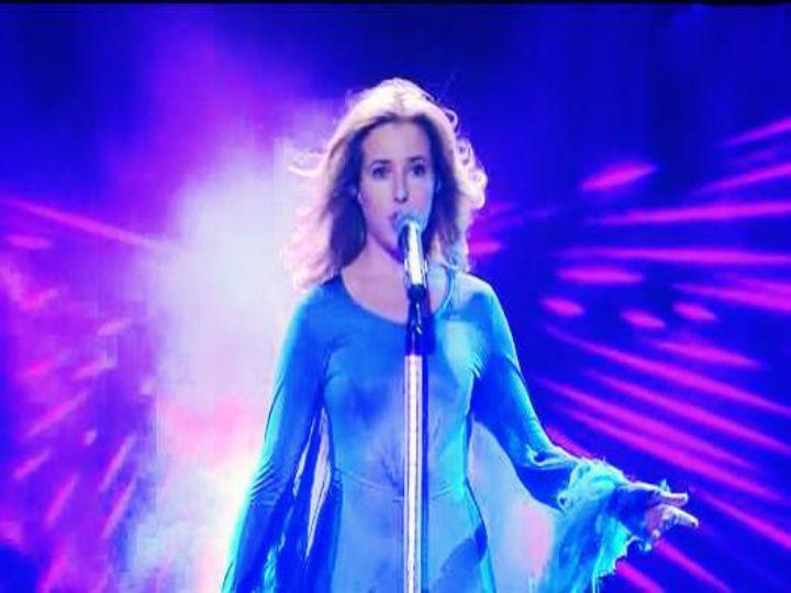 Jennifer Grout durante concurso «Arabs Got Talent» (Foto:Reprodução/Jennifer Grout/Facebook)