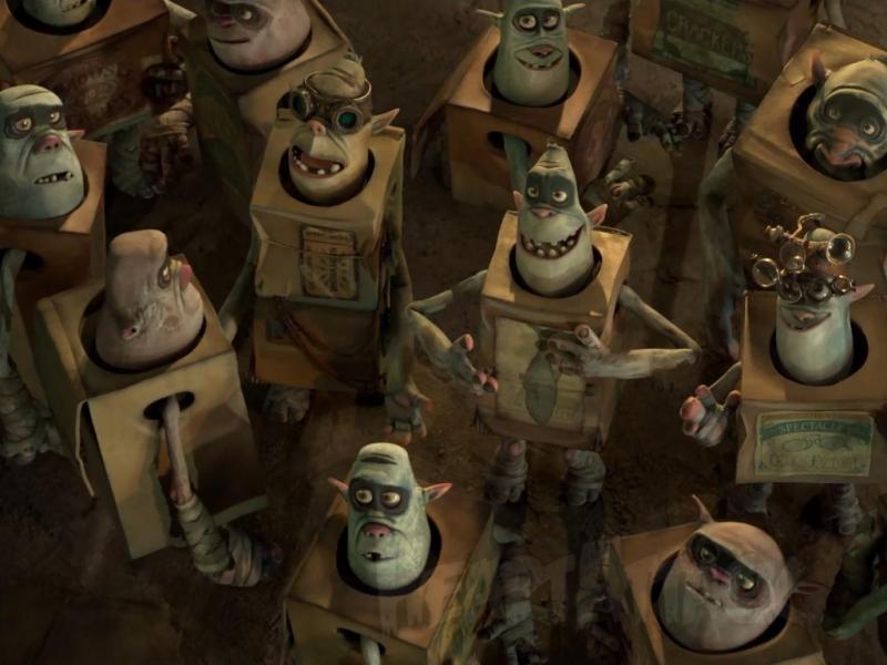 «Os Monstros das Caixas»