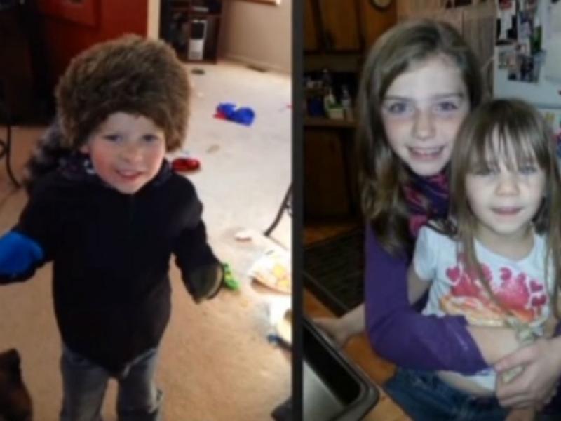 Três das crianças desaparecidas na neve nos EUA (Xerife)