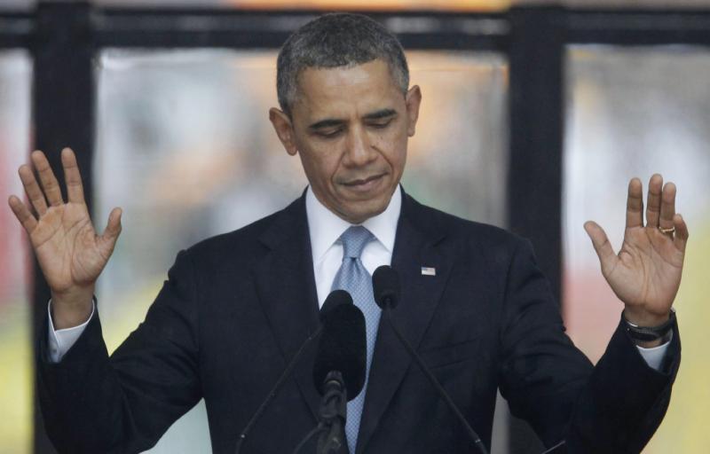 Obama - Cerimónia de entrega do Prémio Nobel da Paz em Oslo Foto: Lusa