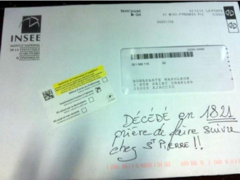 Carta para Napoleão Bonaparte [DR]