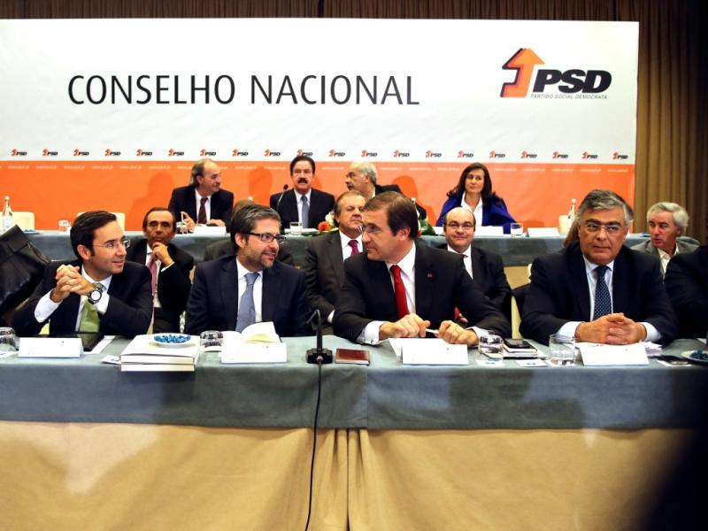 Conselho Nacional do PSD [LUSA]