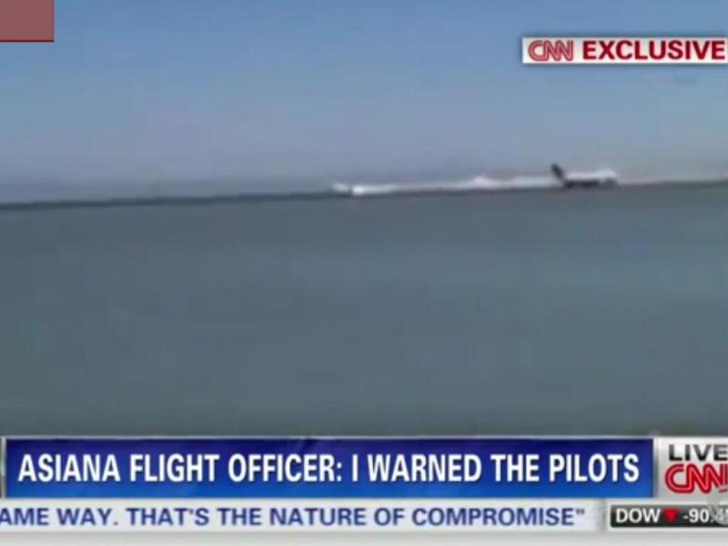 Novas imagens arrepiantes do acidente de avião em São Francisco