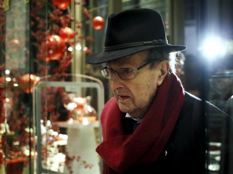 Manoel de Oliveira aos 105 anos - EPA/ESTELA SILVA